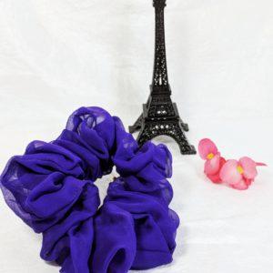 Purple Silk Chiffon-Jumbo