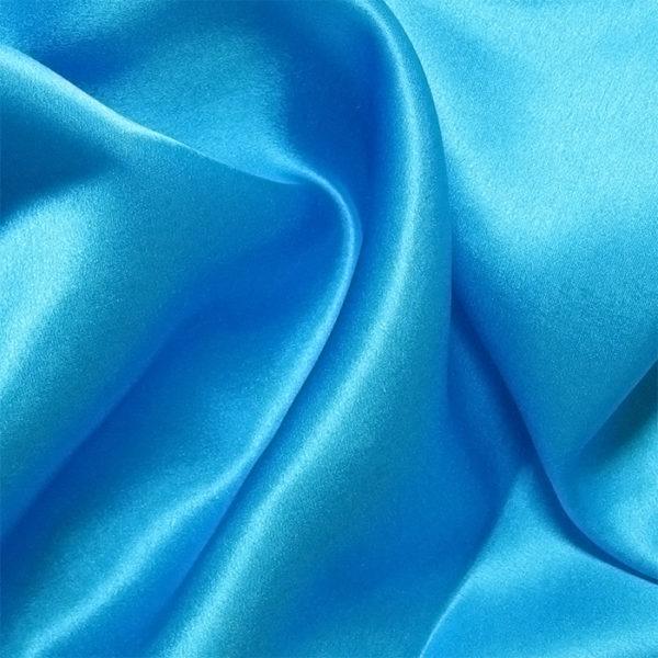 Turquoise Silk Charmeuse