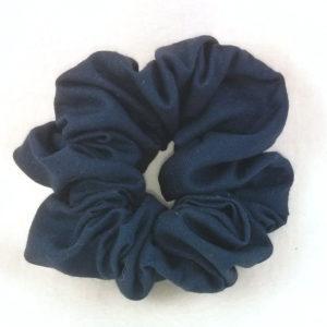 Navy Blue Scrunchy-Small