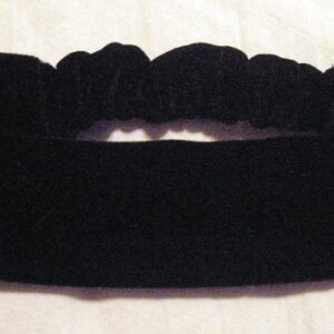 Black Velvet Stretch Headband